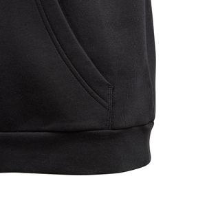 adidas Kinder Core 18 Hoodie Kapuzenpullover schwarz – Bild 3