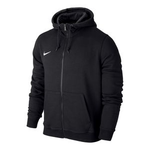 Nike Team Club Full-Zip Hoody Kinder Kapuzenjacke schwarz – Bild 1