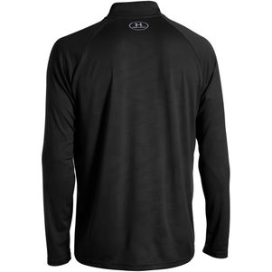 Under Armour Tech 1/4 Zip Trainingstop schwarz grau – Bild 3