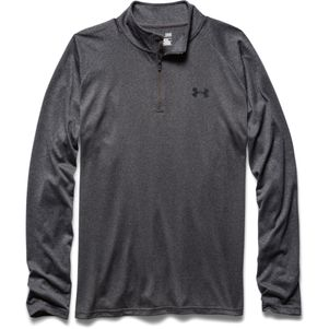 Under Armour Tech 1/4 Zip Trainingstop schwarz grau – Bild 15