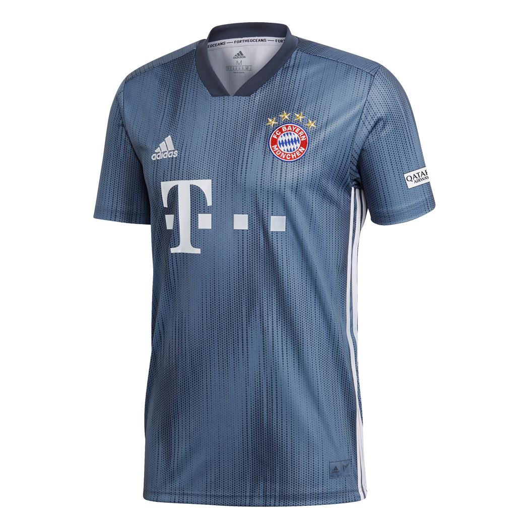 adidas FC Bayern München Ausweichtrikot 20182019 blau