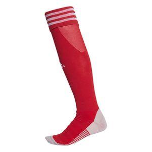 adidas Adisock 18 3 Streifen Stutzenstrumpf rot / weiß