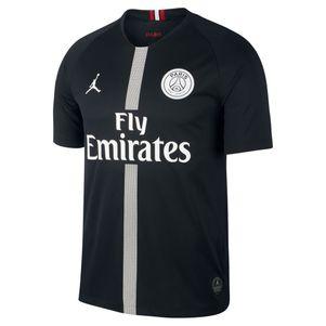 Nike Jordan Paris Saint Germain Stadium 3rd Trikot schwarz 2018/2019 – Bild 1