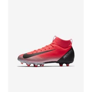 Nike Kinder Mercurial Superfly 6 Academy MG CR7 Ronaldo rot – Bild 2
