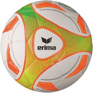 erima Hybrid Lite 290 Gramm Jugendfußball Größe 4 weiß / orange