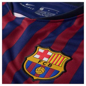Nike Kinder FC Barcelona Heimtrikot 2018/2019 blau / rot – Bild 3