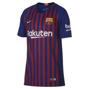 Nike Kinder FC Barcelona Heimtrikot 2018/2019 blau / rot – Bild 1