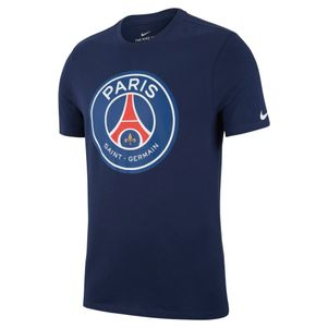 Nike Paris Saint Germain Crest T-Shirt blau – Bild 1