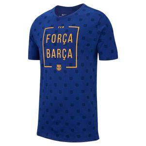 Nike FC Barcelona Squad Fan T-Shirt blau – Bild 1