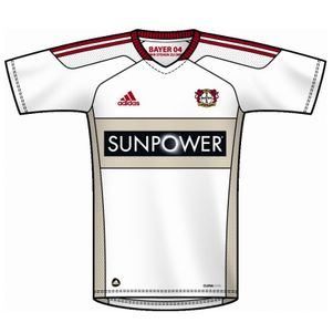 adidas Bayer 04 Leverkusen Away Trikot Kinder2012-2013