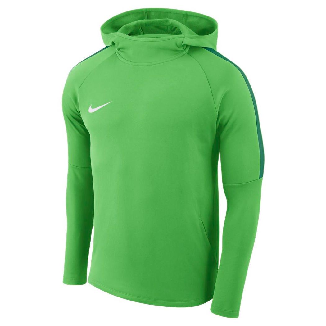 Nike Dry Academy 18 Hoodie Kapuzenpullover grün Teamwear Pullover af90608d59