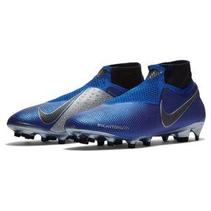 Nike Phantom Vision Elite DF FG blau / schwarz / silber – Bild 5