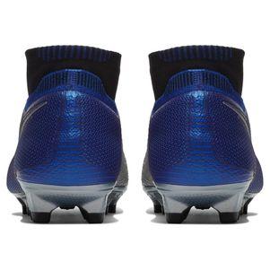 Nike Phantom Vision Elite DF FG blau / schwarz / silber – Bild 7