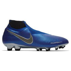 Nike Phantom Vision Elite DF FG blau / schwarz / silber – Bild 1
