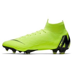 Nike Mercurial Superfly 6 Elite FG gelb – Bild 2