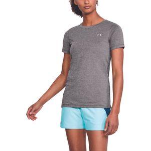 2er Pack Under Armour Damen HeatGear® Shirt Fitness T-Shirt kurzärmlig – Bild 8