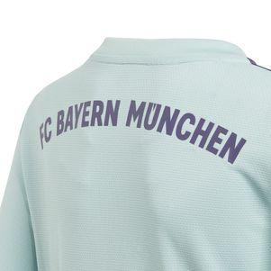 adidas Kinder FC Bayern München Auswärtstrikot 2018/2019 mintgrün – Bild 4