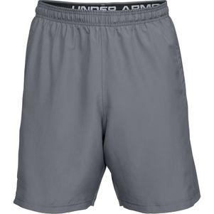 Under Armour Woven Graphic Shorts grau/schwarz – Bild 4