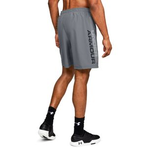 Under Armour Woven Graphic Shorts grau/schwarz – Bild 3