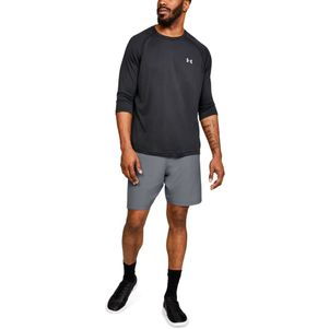 Under Armour Woven Graphic Shorts grau/schwarz – Bild 2
