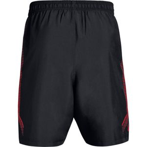 2er Pack Under Armour Woven Graphic Shorts schwarz und grau – Bild 7
