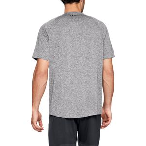 Under Armour Tech 2.0 T-Shirt Fitness Shirt grau – Bild 3