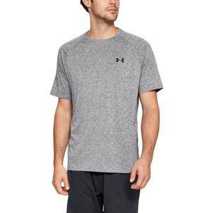 Under Armour Tech 2.0 T-Shirt Fitness Shirt grau – Bild 1