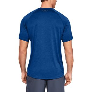 Under Armour Tech 2.0 T-Shirt Fitness Shirt blau – Bild 3