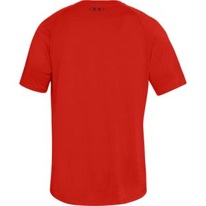 Under Armour Tech 2.0 T-Shirt Fitness Shirt rot – Bild 4