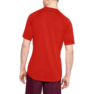 3er Pack Under Armour Tech 2.0 T-Shirt Fitness Shirt grau blau rot – Bild 16
