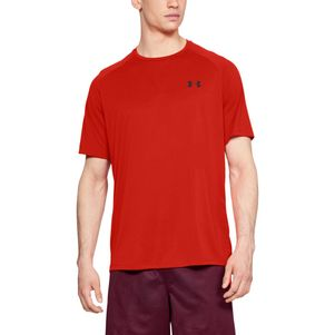 3er Pack Under Armour Tech 2.0 T-Shirt Fitness Shirt grau blau rot – Bild 14