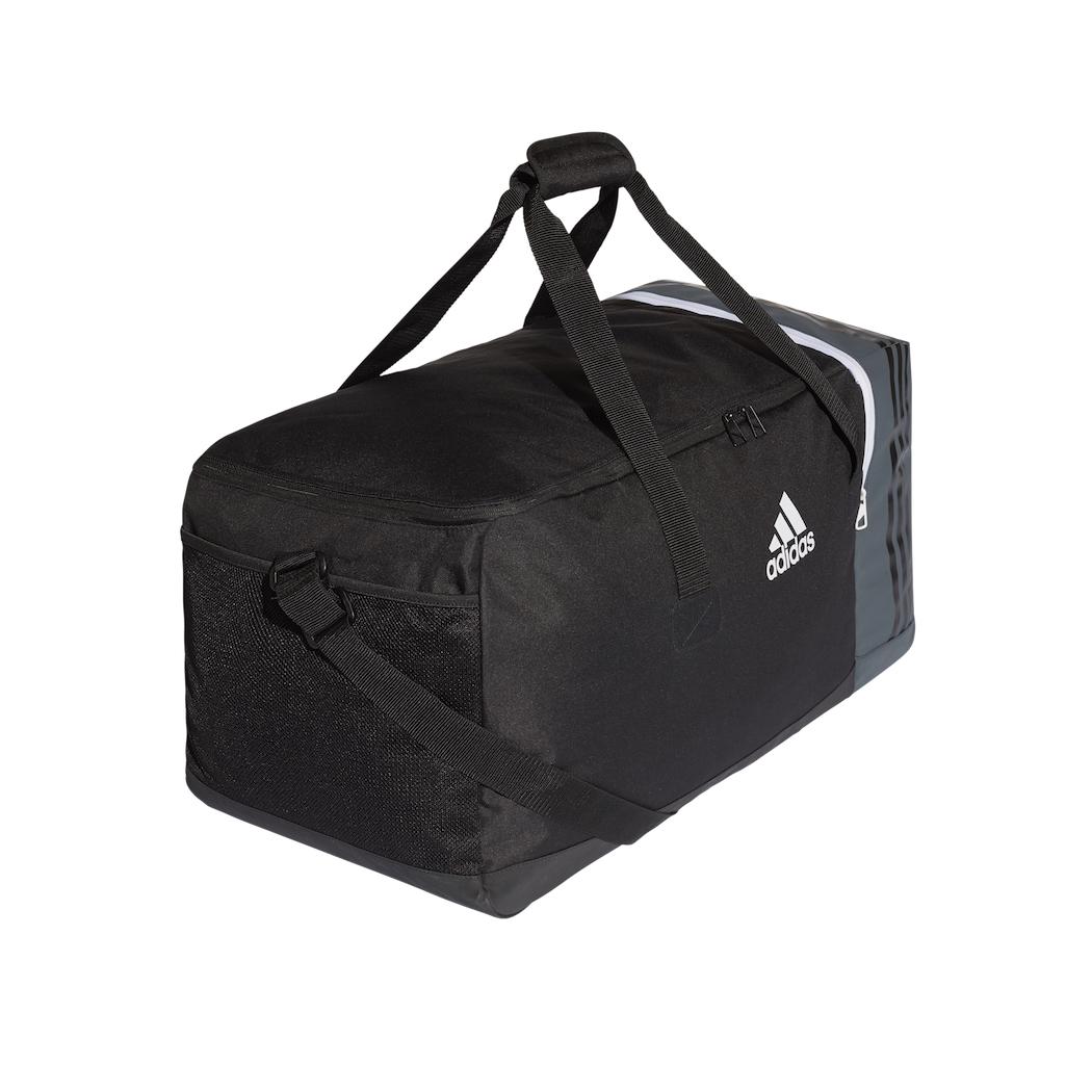 8103eb21a2c5f adidas Tiro Teambag Sporttasche Gr. L schwarz   grau Equipment Taschen
