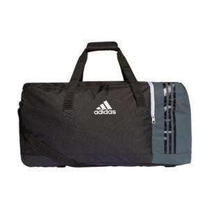adidas Tiro Teambag Sporttasche Gr. L schwarz / grau – Bild 1
