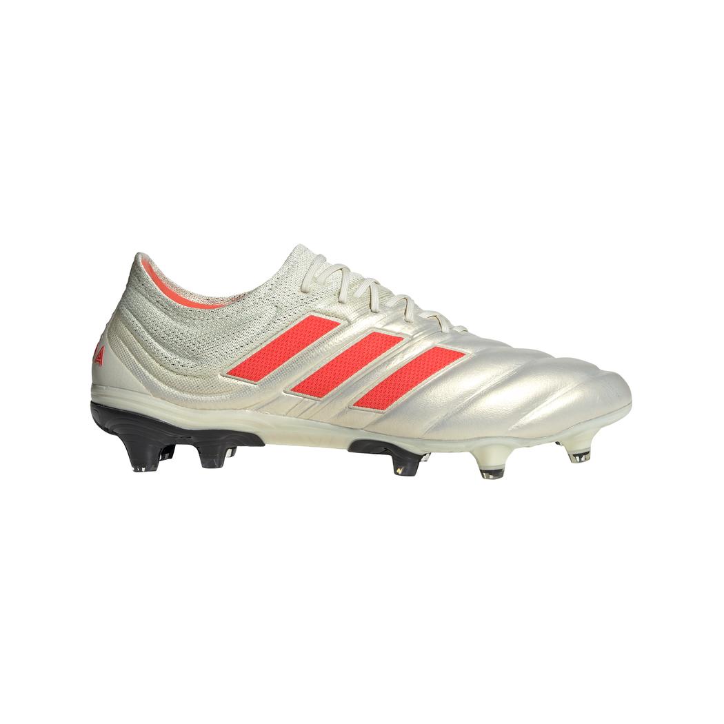 Verarbeitung finden sehr bekannt Kaufen Sie Authentic adidas Copa 19.1 FG weiß / rot