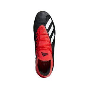 adidas X 18.3 Hallenfußballschuhe schwarz / weiß / rot – Bild 6