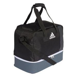 adidas Tiro Teambag Sporttasche mit Bodenfach Gr. S schwarz / grau – Bild 2