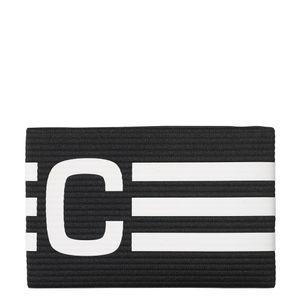 adidas Captains Armband Kapitänsbinde schwarz / weiß – Bild 1