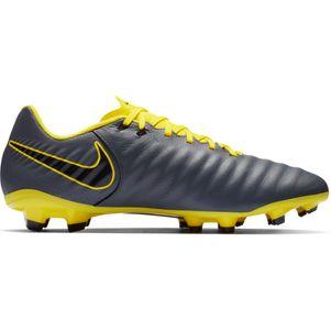 Nike Legend 7 Academy FG  grau / gelb – Bild 2