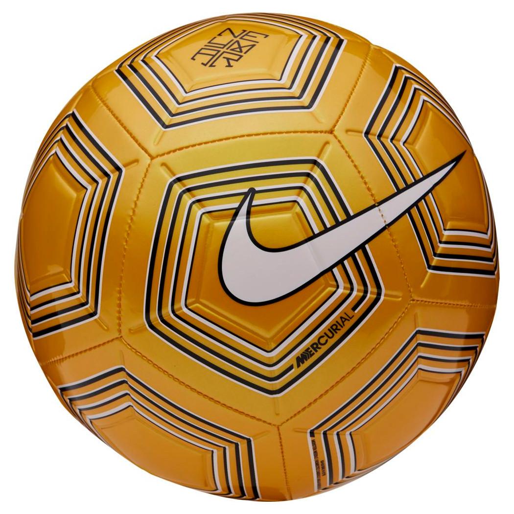 Nike Fussball Neymar Jr Strike Orange Weiss