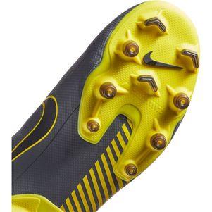 Nike Kinder Vapor 12 Academy MG  grau / gelb – Bild 7