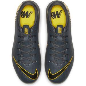 Nike Kinder Vapor 12 Academy MG  grau / gelb – Bild 8
