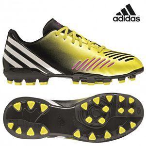 adidas Predator Absolado LZ TRX AG J Kinder Kids gelb / pink / weiß