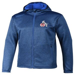uhlsport 1.FC Köln Essential Fleece Jacke blau
