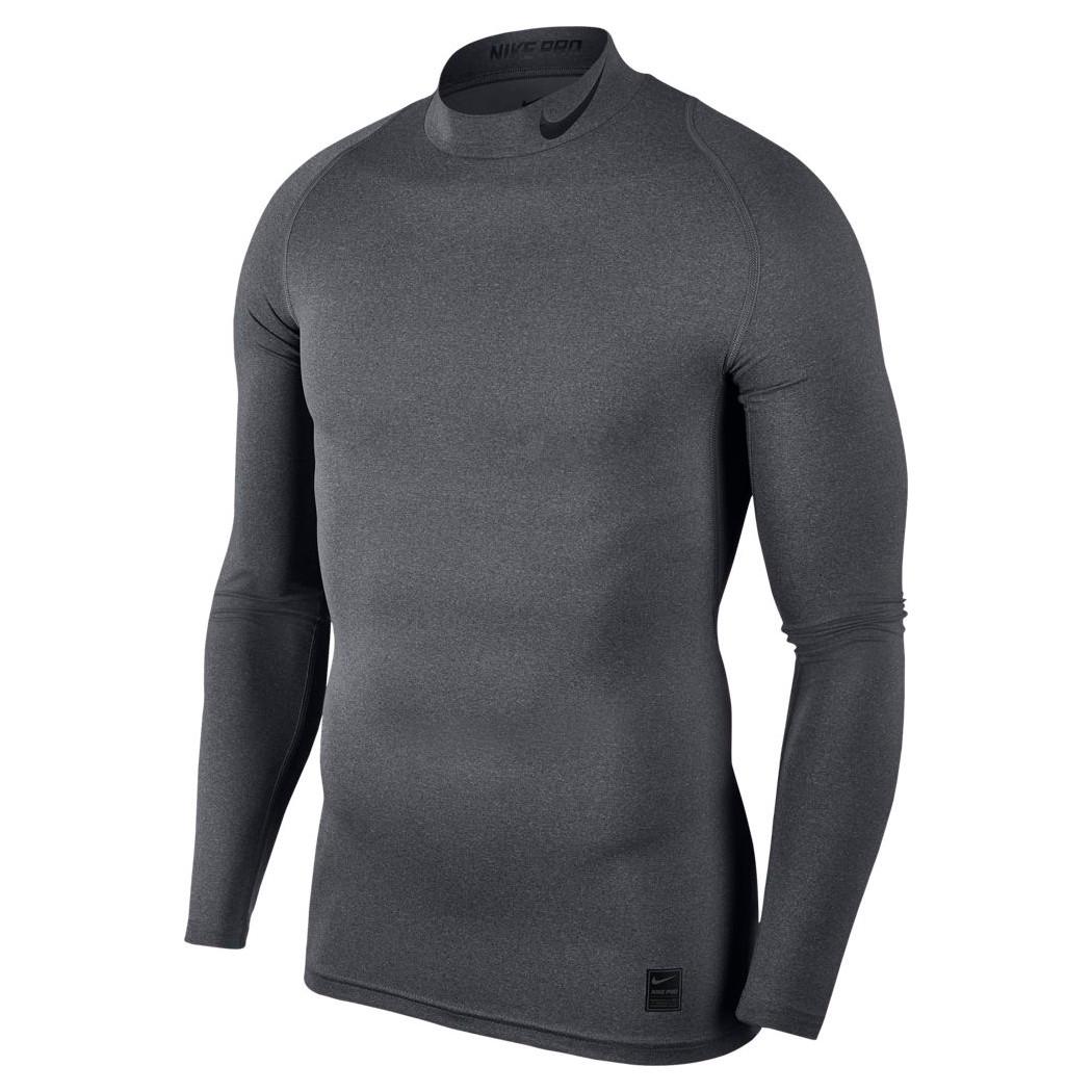 99e999fbf647f8 Nike Pro Funktionsshirt Herren Langarm grau Teamwear Underwear