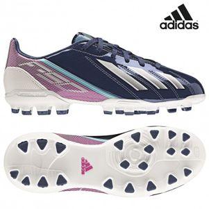 adidas F10 TRX AG J Kid Kinder dunkelblau / pink / weiß