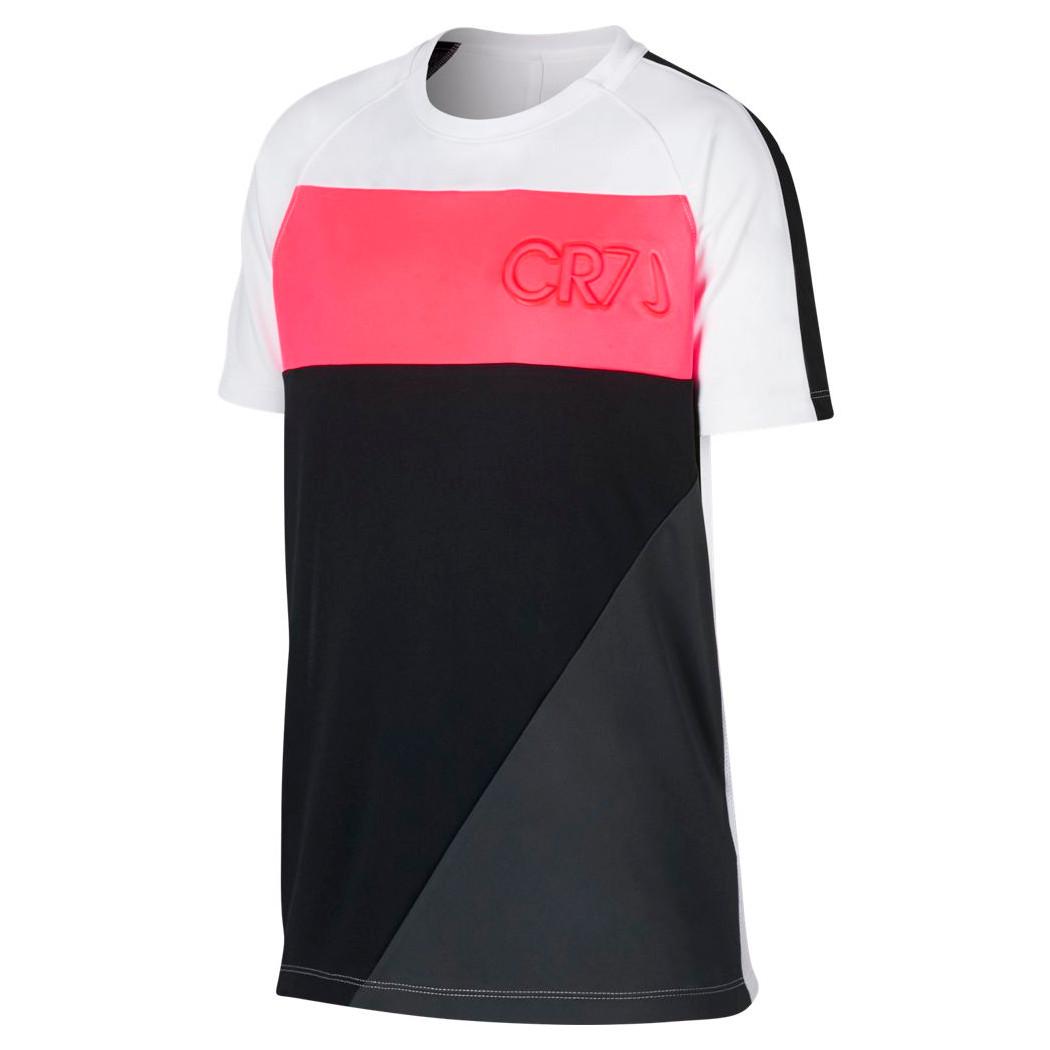 harmonische Farben großer Rabatt 60% Rabatt Nike Kinder Dri-Fit CR7 T-Shirt Christiano Ronaldo weiß / pink