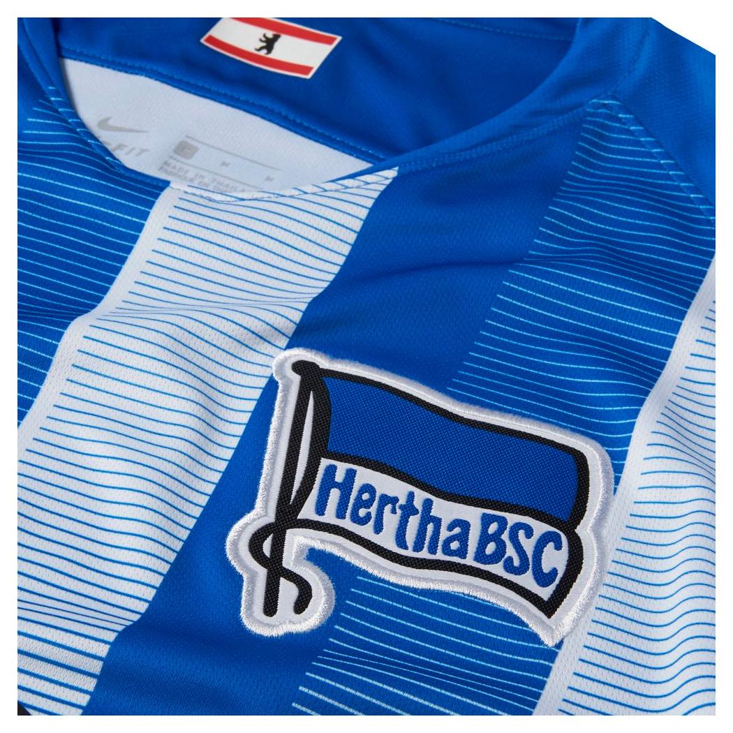 Nike Hertha BSC Berlin Home Heimtrikot 20182019 blau weiß