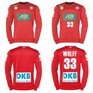 Kempa DHB Torwarttrikot Deutscher Handballbund WM 2019 rot – Bild 1