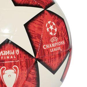 adidas Champions League Finale Madrid Capitano Fußball weiß / rot 2018/2019 – Bild 2
