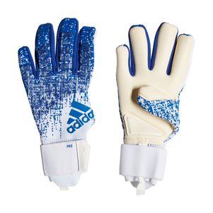 adidas Predator Pro Torwarthandschuhe blau / weiß